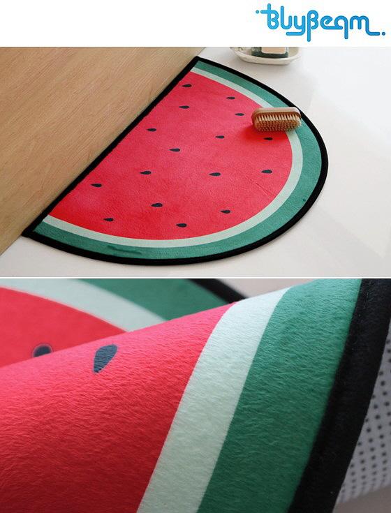 [바이빔] 수박 반달 발매트