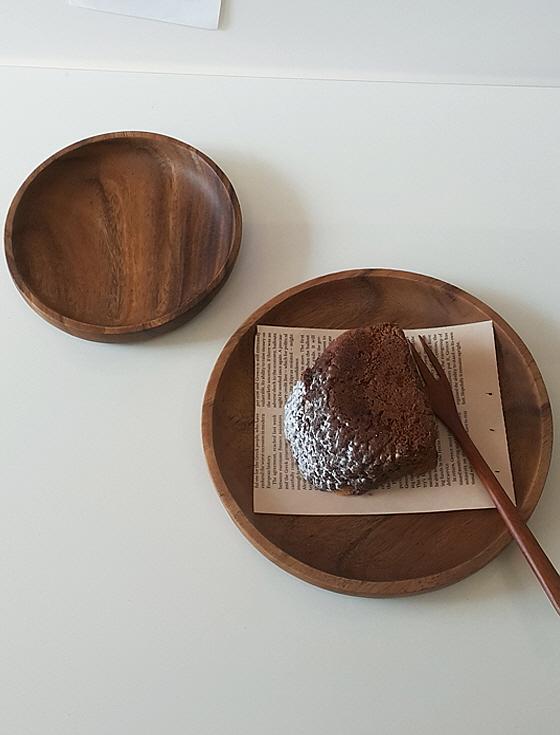 아카시아 우드접시 나무접시 트레이