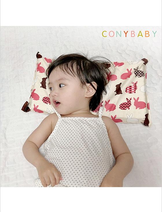 꿀잠유아동라텍스베개(코니)